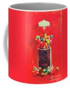 Vintage Candy Store Gum Ball Machine Coffee Mug