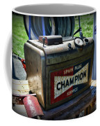 Vintage Champion Spark Plug Cleaner Coffee Mug