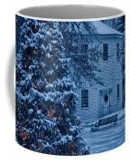 Vintage Christmas Church In Vermont Coffee Mug