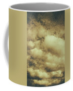 Vintage Cloudy Sky. Old Day Background Coffee Mug