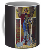 Vintage Cycle Poster Art Nevou Style Omega Sans Chaine Coffee Mug