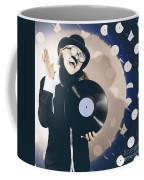 Vintage Dj Bringing Back The Retro Beat Coffee Mug