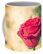 Vintage Film Effect Rose. Coffee Mug