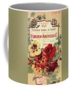 Vintage Flower Seed Cover Paris Rare Coffee Mug