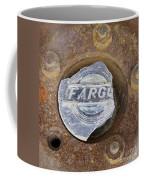 Vintage Fargo Wheel Art Coffee Mug