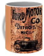Vintage Ford Motor Company Coffee Mug