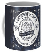 Vintage French Cheese Label 3 Coffee Mug