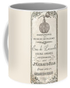 Vintage French Perfume Sign Coffee Mug