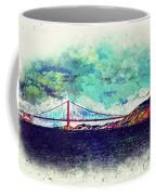 Vintage Golden Gate Coffee Mug