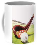 Vintage Golf Art - Circa 1920's Coffee Mug