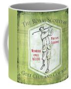 Vintage Golf Green 1 Coffee Mug
