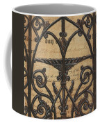 Vintage Iron Scroll Gate 1 Coffee Mug