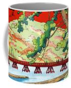 Vintage Japanese Art 6 Coffee Mug