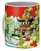 Vintage Japanese Art 7 Coffee Mug