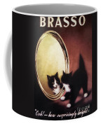 Vintage Kitty Cat Coffee Mug