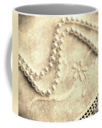 Vintage Lace And Pearls Coffee Mug