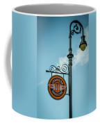 Vintage Lamp And Sign Coffee Mug