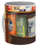 Vintage Lard Can Coffee Mug