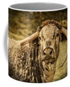 Vintage Longhorn Cattle Coffee Mug