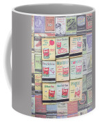 Vintage Matchbooks Coffee Mug