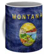 Vintage Montana Flag Coffee Mug