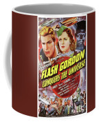 Vintage Movie Posters, Flash Godon Conquers The Universe Coffee Mug