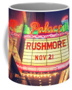 Vintage Neon Sign Over The Entrance To Historic Palace Theatre In Downtown La. Coffee Mug