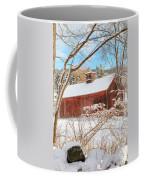 Vintage New England Barn Portrait Coffee Mug by Bill Wakeley
