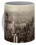 Vintage New York City Panorama Coffee Mug