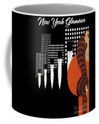 Vintage New York Glamour Art Deco Coffee Mug