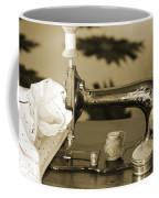 Vintage Notions In Sepia Tones Coffee Mug