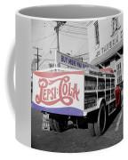 Vintage Pepsi Truck Coffee Mug