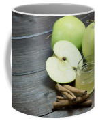 Vintage Photo Of Green Apples Coffee Mug