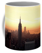 Vintage Photo Of View From The Rca Building In Nyc Coffee Mug