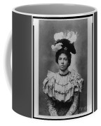 Vintage Photo Of Young Pretty Colored Lady Coffee Mug