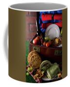 Vintage Picnic With A Splash Of Color Coffee Mug