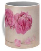 Vintage Pink Hydrangea Coffee Mug