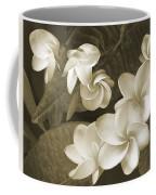 Vintage Plumeria Coffee Mug