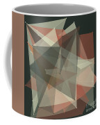 Vintage Polygon Pattern Coffee Mug