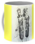 Vintage Ponytail Barbie Coffee Mug