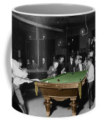 Vintage Pool Hall Coffee Mug