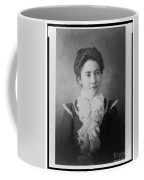 Vintage Portrait Of Young Lady Coffee Mug