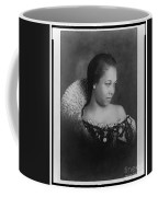 Vintage Portrait Photo Of Young Pretty Colored Lady Coffee Mug