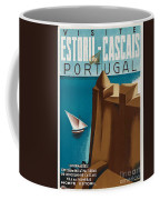 Vintage Portugal Travel Poster Coffee Mug