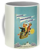 Vintage Poster - Bavarian Alps Coffee Mug