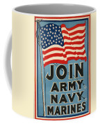 Vintage Recruitment Poster Coffee Mug