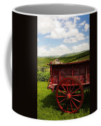 Vintage Red Wagon Coffee Mug