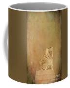 Vintage Reflecting Woman 1 - Artistic Coffee Mug