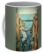 Vintage Riomaggiore Cinque Terre Italy Coffee Mug