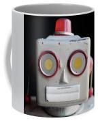 Vintage Robot Square Coffee Mug